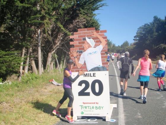 El muro; el fantasma de la maratón