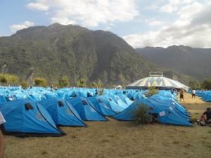 El campamento 1
