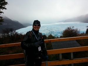 """Imponente el Perito Moreno. Se pierde 35 kilometros """"hacia adentro"""""""