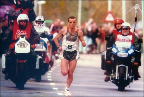 Rotterdam 1998: Fabián Roncero, a un calambre del récord mundial