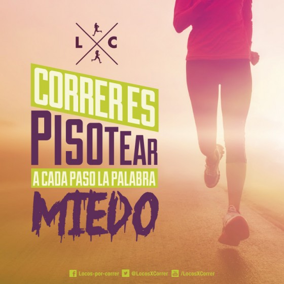Correr es…