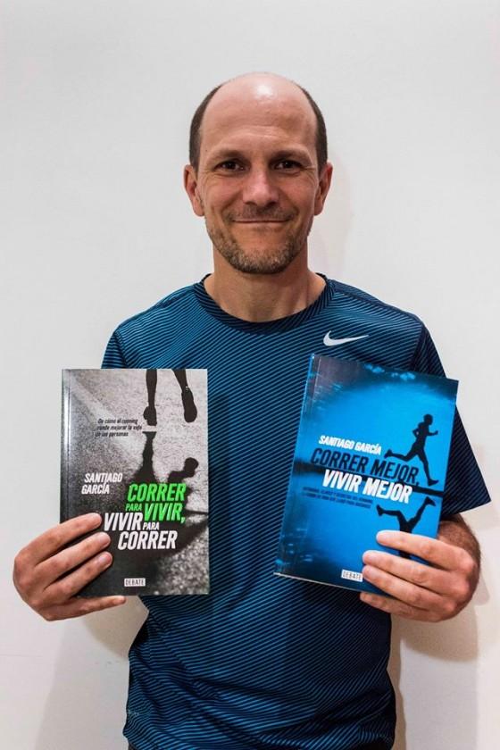 Entrevista – Santiago Garcia y su segundo libro sobre running