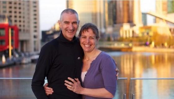 Una pareja se casará en el medio de un triatlón