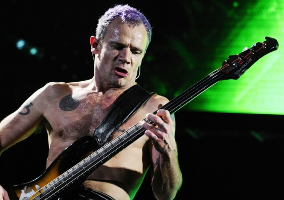 "Famosos que corren: ""Flea"" de los  Red Hot Chili Peppers"
