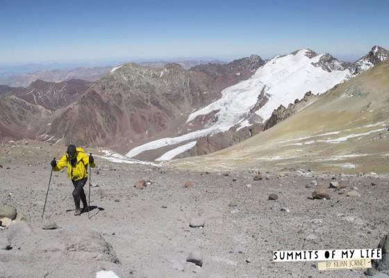 Kilian Jornet logró el récord en el Aconcagua