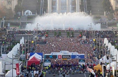 Habrá nuevo recorrido para la Maratón de Barcelona 2015