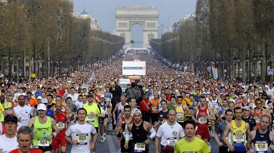 Tiene récord de inscriptos la Maratón de París 2015