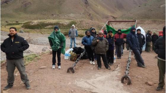 Mendoza: imputarán a los piqueteros que interrumpieron la Ultramaratón Aconcagua
