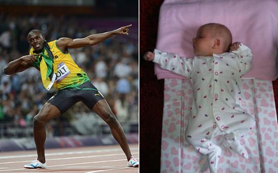 "Usain Bolt analiza al mejor ""Bebé Bolt"""