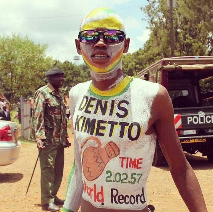 Dennis Kimetto FAN Locos por correr