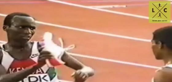 1993: cuando le corrieron a Haile Gebreselassie con una sola zapatilla