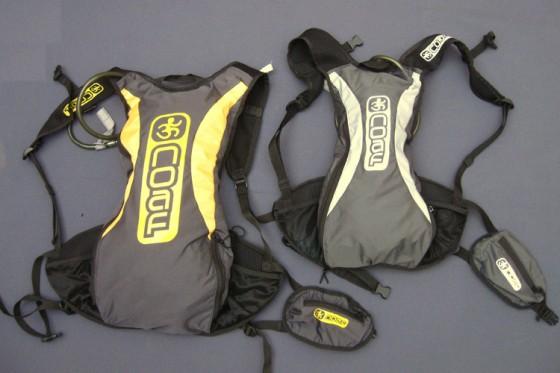 Material runner: mochilas de hidratación