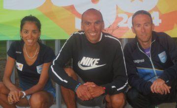 Mariano Mastromarino y Marita Peralta brillaron en Miami