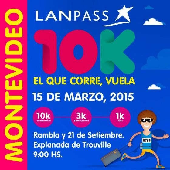 Recomendada: LANPass Montevideo 10k