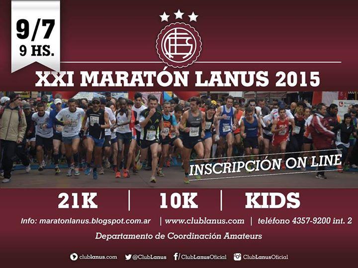 21k LANUS 2015 Locos por correr