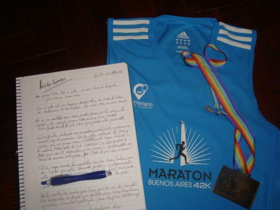 """""""Carta a un futuro maratonista"""": motivación para correr"""