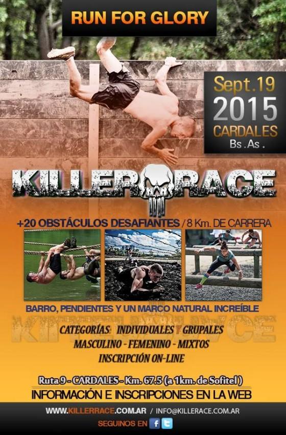 """Llega la """"Killer Race"""": imperdibles 8k y 4k con obstáculos"""