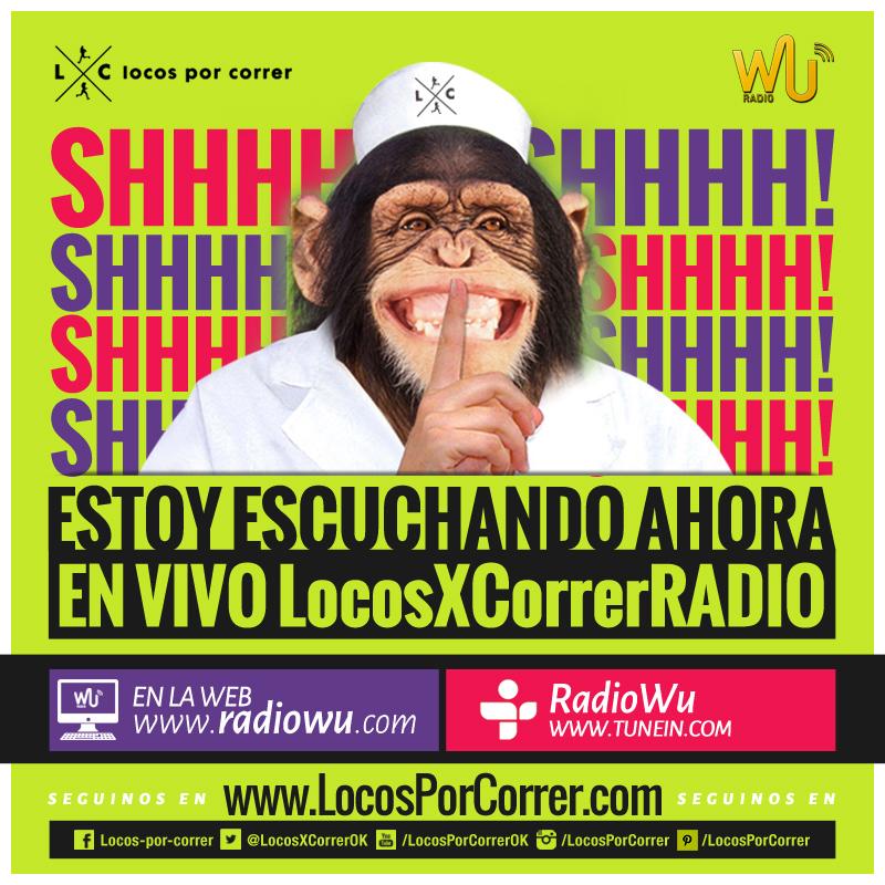 Locos por correr radio en vivo programas grabados