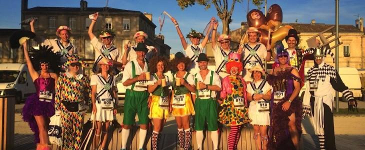La maratón más lenta, ebria y loca del mundo