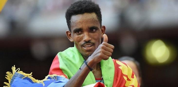 Ghirmay Ghebreslassie campeon mundial maraton locos por correr 01