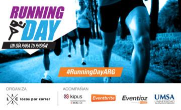 Llega el Running Day Argentina el 4 de Septiembre