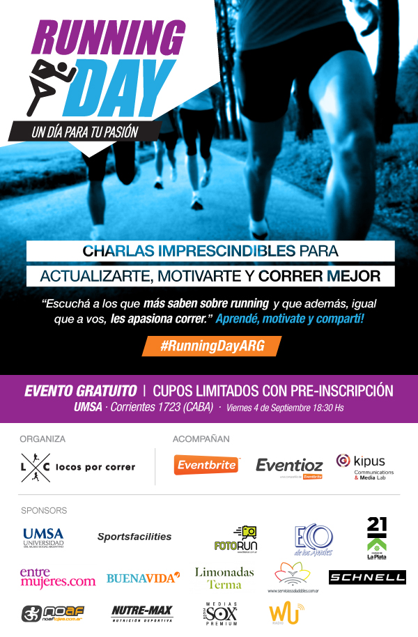 Running Day Argentina - Sponsors