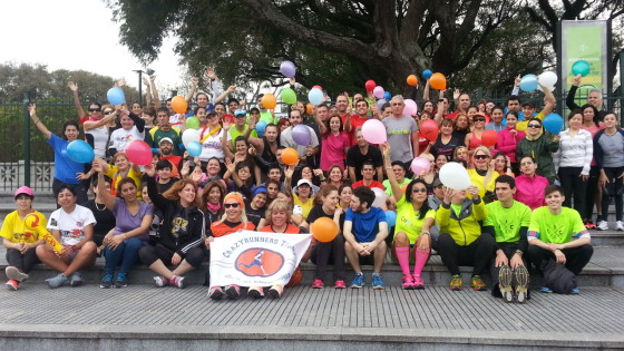 La Running Party de Locos, en la televisión