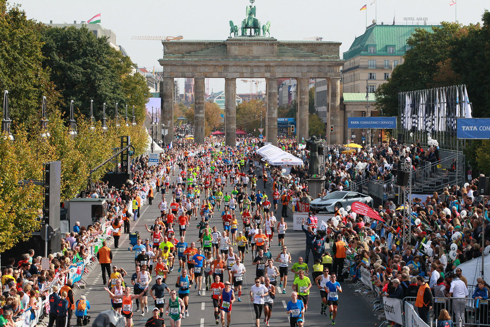 Berlin Marathon 2015 world record Locos Por correr 01