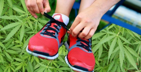 Como locos: correr activa las mismas zonas del cerebro que la marihuana