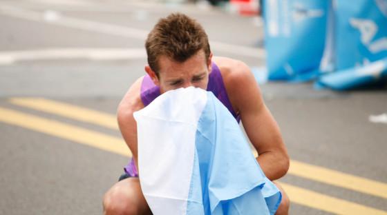 VIDEO: Luis Molina Olímpico. Entrevista después de lograr la marca en 42k Buenos Aires