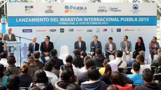 México: presentan la Maratón de Puebla 2015