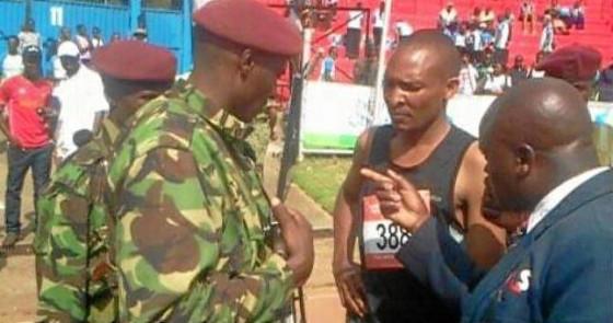 Insólito: entra colado en una maratón para llegar segundo y termina preso