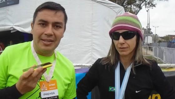 Rosangela Faria; otra marca olímpica en la Maratón de Buenos Aires