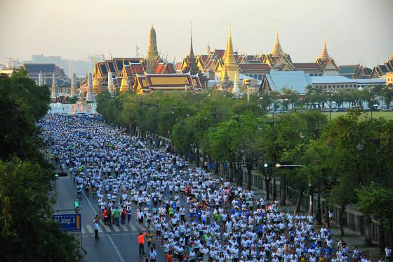 Puede fallar: la media maratón de Bangkok tuvo seis kilómetros de más, por un error