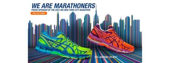 Asics se despide de la Maratón de New York y llega New Balance