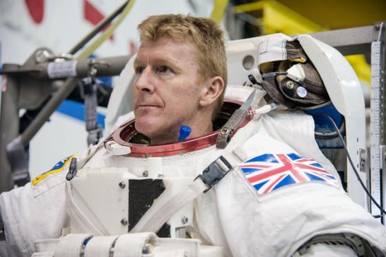 Un astronauta correrá la Maratón de Londres… en el espacio