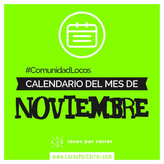 Carreras Noviembre 2017