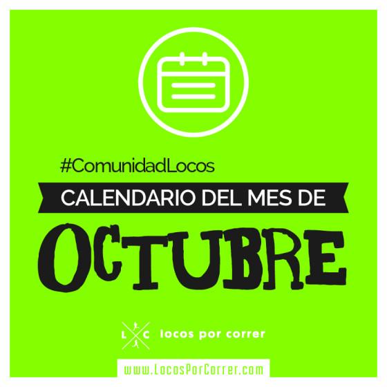 Carreras Octubre 2017