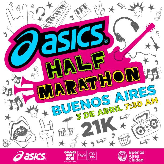 asics half marathon