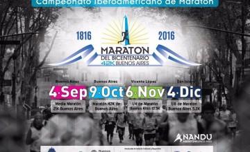 Maratón de Buenos Aires 2016 y 21k abrieron inscripciones; fechas y precios
