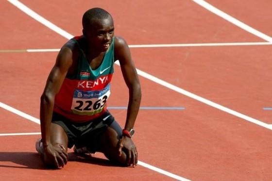 Sammy Wanjiru, vivir al límite