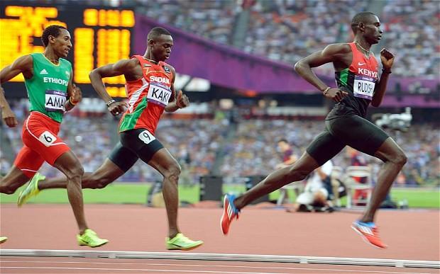 David Rudisha Londres 2012 técnica - Locos por correr