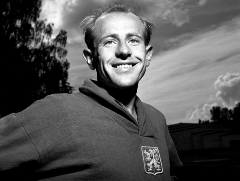Emil Zatopek sonriendo Locos por correr