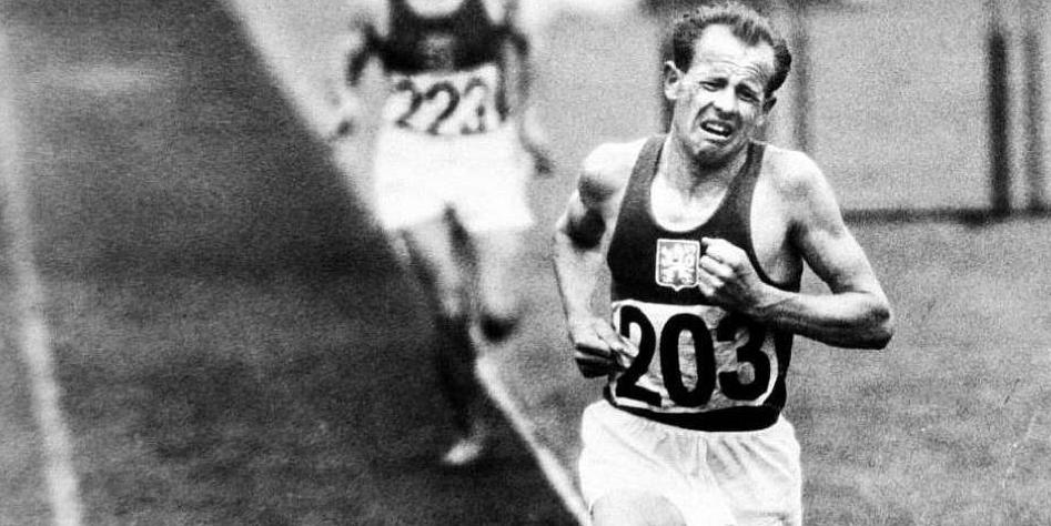 Emil Zatopek - técnica- Locos por correr