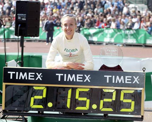 Paula Radcliffe, la reina del maratón