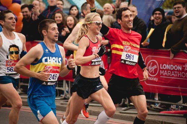 Paula Radcliffe Maratón de Londres 2015 Locos por correr