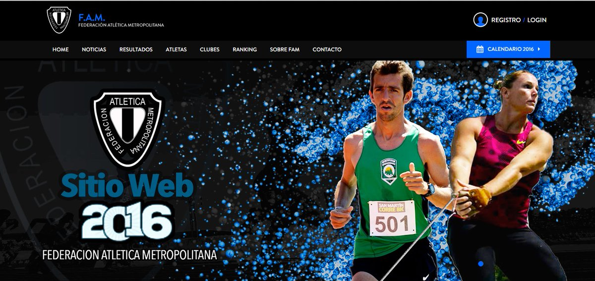Fam web nueva Locos POr Correr Noticias