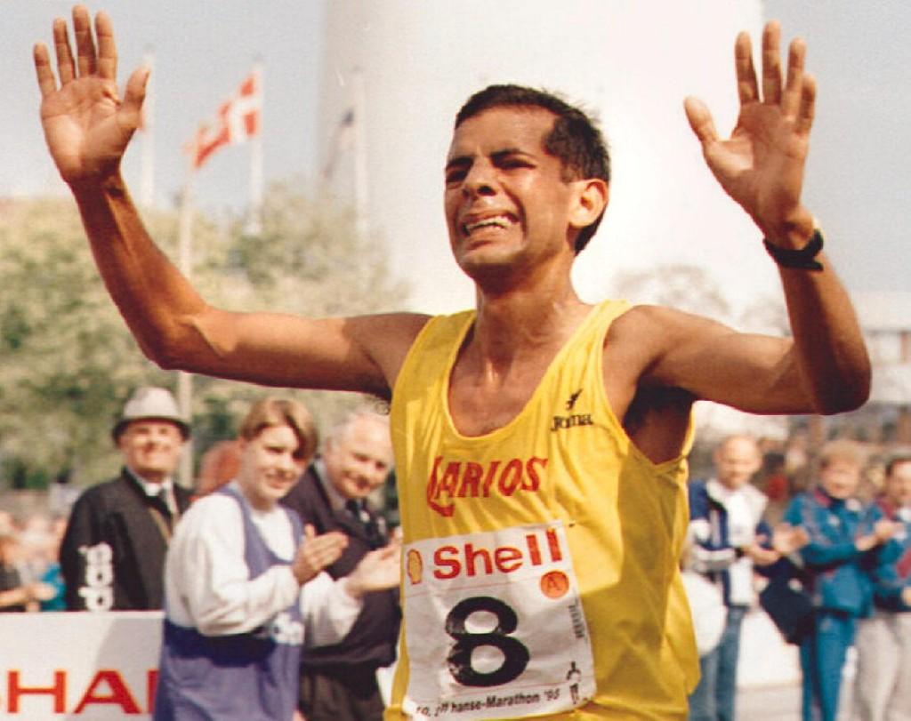 Antonio Silio Hamburgo 1995 Locos por correr