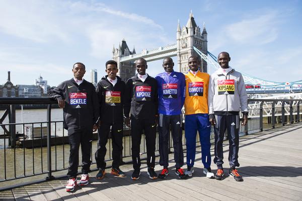 Bekele y élite de Londres 2016