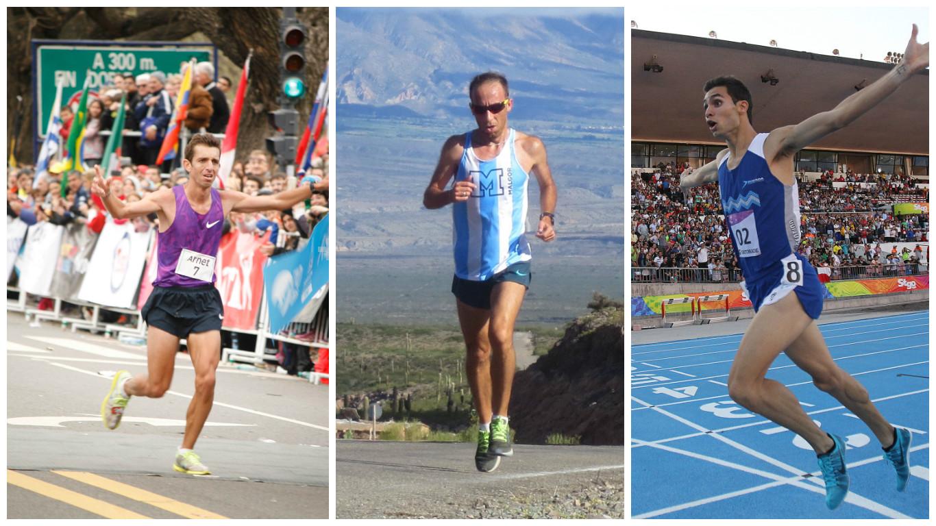 Equipo masculino Maraton Rio 2016 Locos por correr